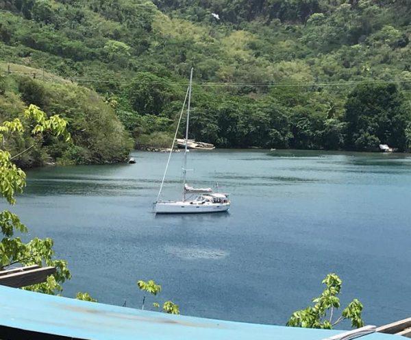 Caribbean anker Hanse 470