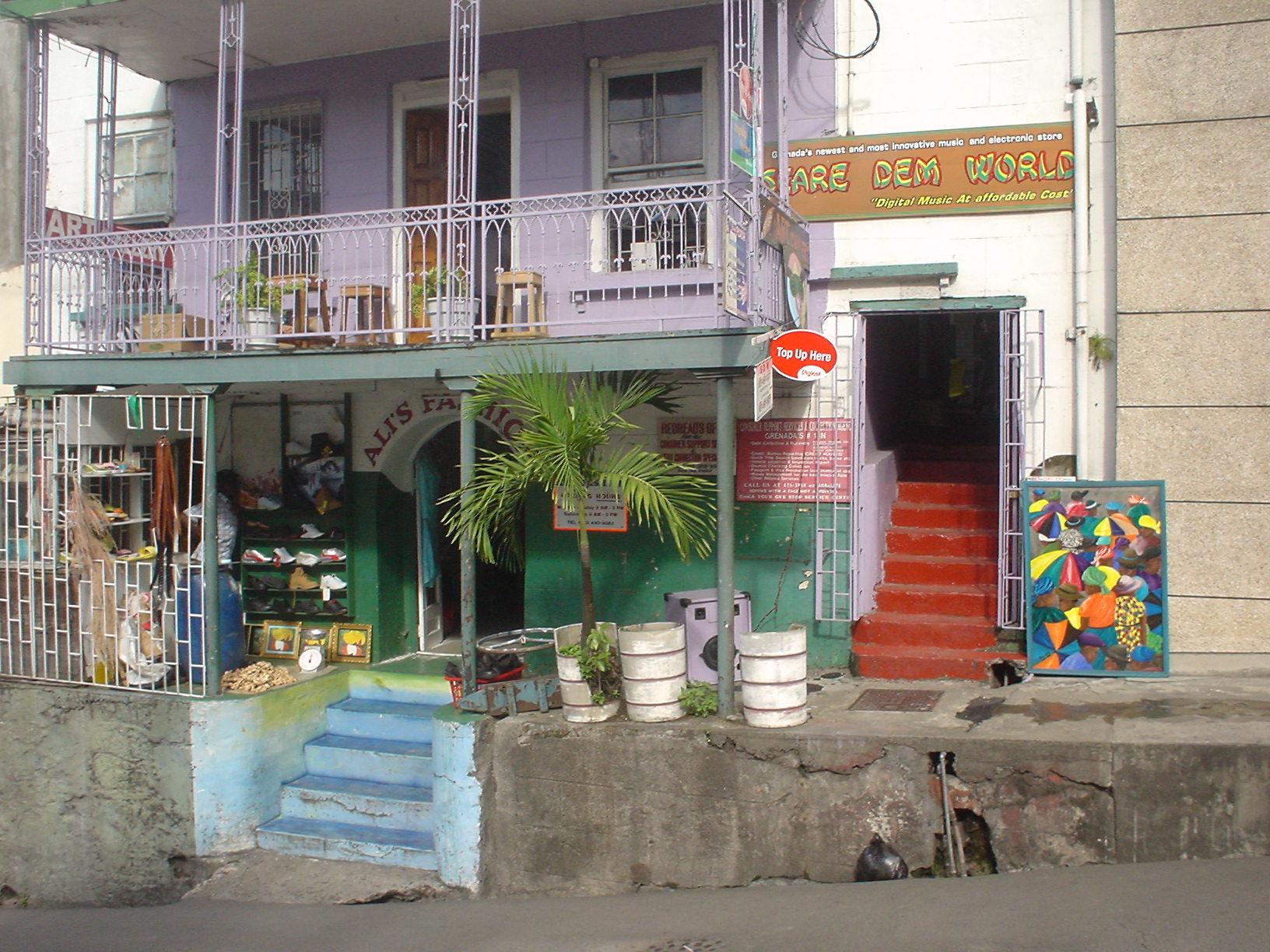 Meezeilen Grenadines