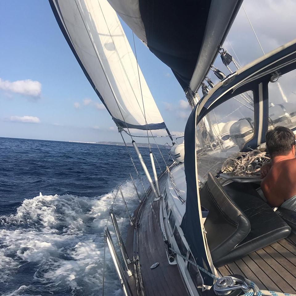 aan de wind zeilen Griekenland