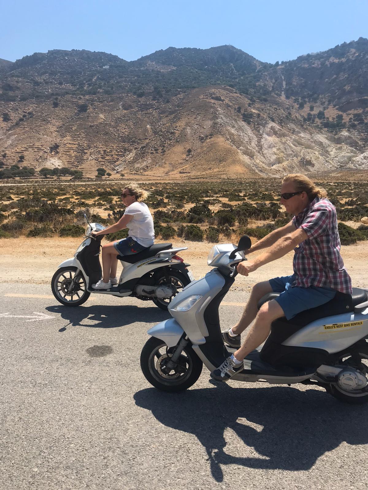 scooter huren Griekenland