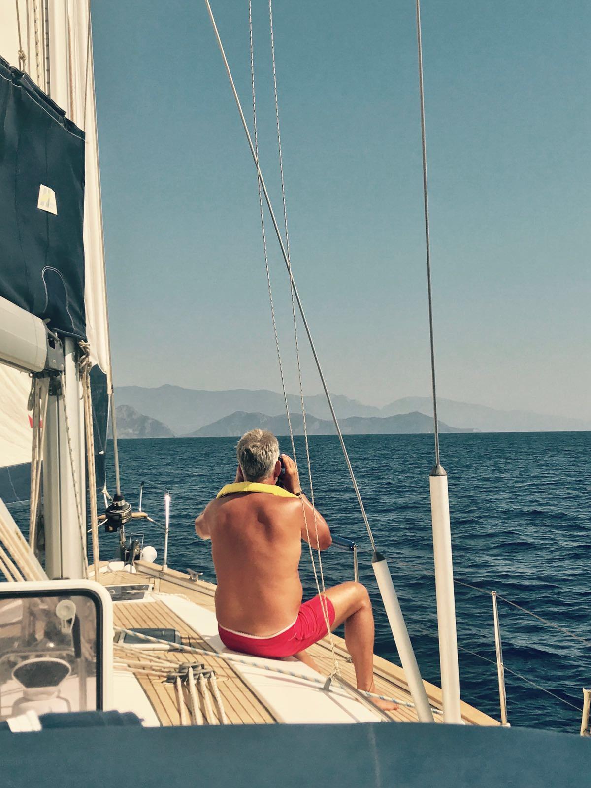 meezeilen Griekenland