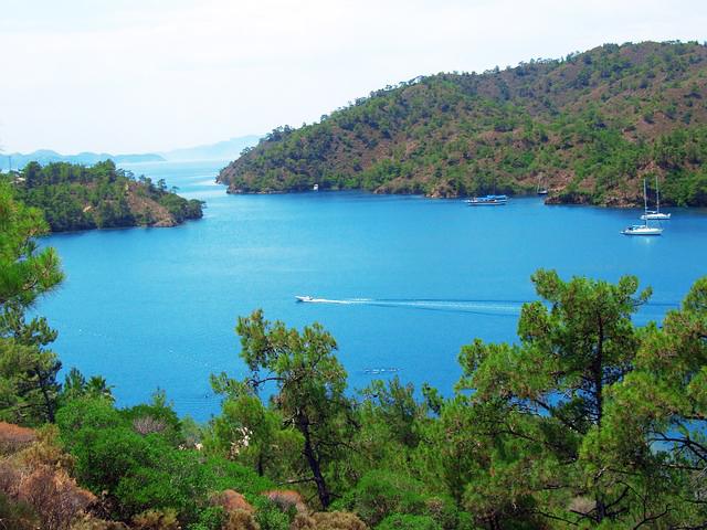 Marmaris baai, Turkse-westkust