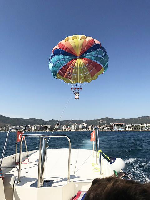 paragliding Turkse-westkust