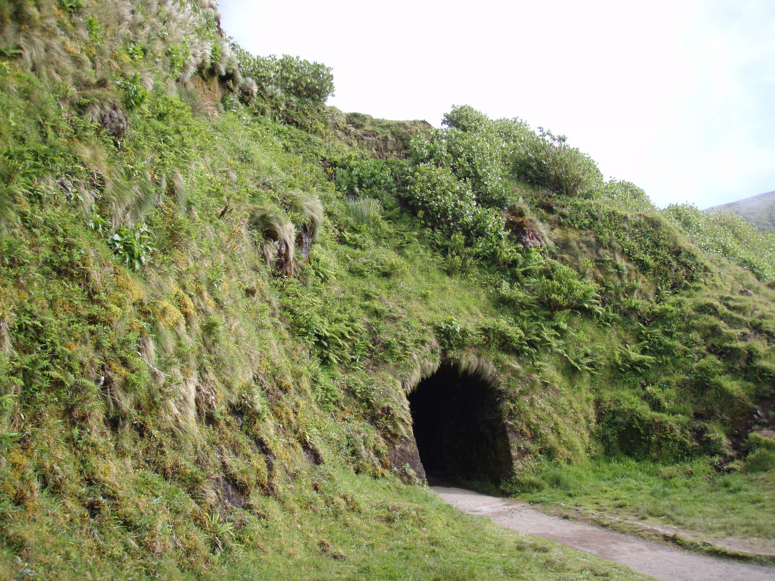 Azoren ingang krater