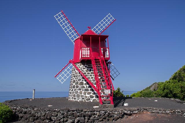 Windmolens Azoren