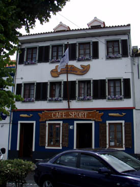 Café Sport, Horta, Azoren