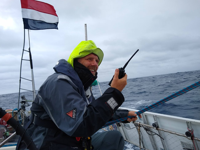 schipper zeiljacht Azoren